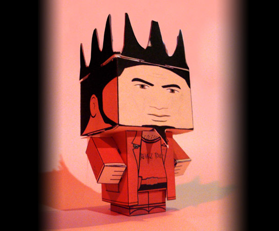 papertoy CONCEPTION DIMAGES, GRAPHISME